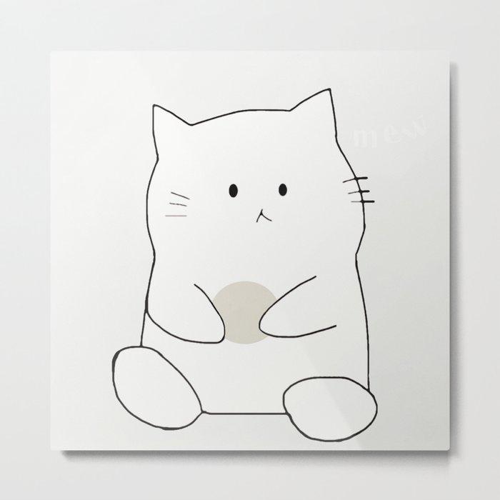 cat-361 Metal Print