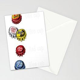 Bottle Caps Fever Stationery Cards
