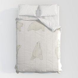 Yoga Bear Comforters