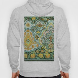 Textile Border Painting circa 1850 recolored Hoody
