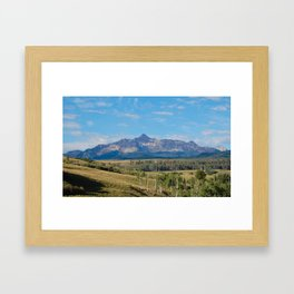 welcome to telluride Framed Art Print