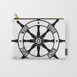 Ship Wheel Bathroom Carry-All Pouch