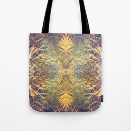 Tropical Kaleidoscope  Tote Bag