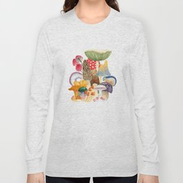 Woodland Mushroom Society Long Sleeve T-shirt