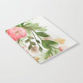 Watercolor Arrangement Notebook