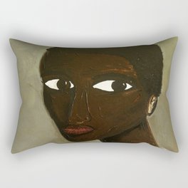 Hope and Fear Held Back Rectangular Pillow