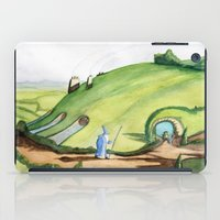 hobbit iPad Cases featuring The Hobbit by Emily
