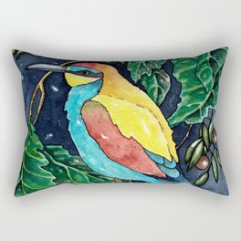 Bee Eater Bird Rectangular Pillow