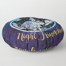 A Court of Mist and Fury - Stars Eternal Night Triumphant Floor Pillow