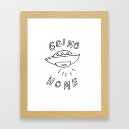 Going Home Framed Art Print