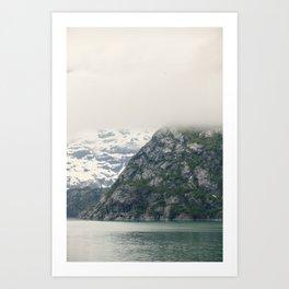 In Glacier Bay Art Print