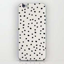 Preppy Spots Digita Drawing iPhone Skin