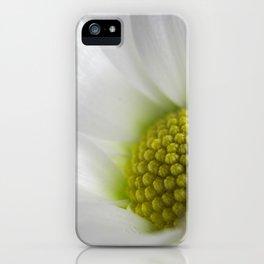 Makro_weiße_Blüten_1 iPhone Case