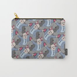 Run Away Office Boy tessellation Carry-All Pouch