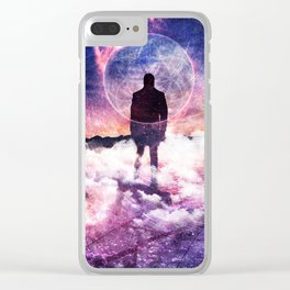 Existentialism Clear iPhone Case