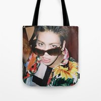 shinee Tote Bags featuring Jonghyun - SHINee by Felicia