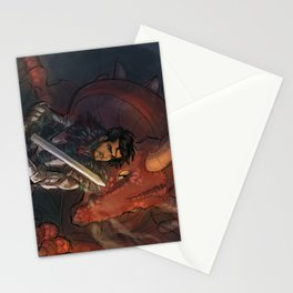 Dragons and Direction: Zayn Stationery Cards