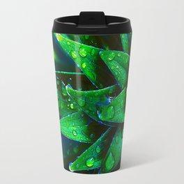 Morning Dew On Plant Travel Mug