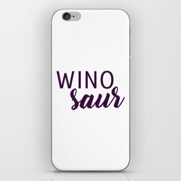 Winosaur iPhone Skin