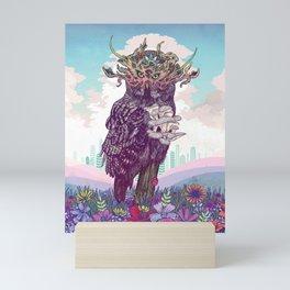 Journeying Spirit (Owl) Mini Art Print