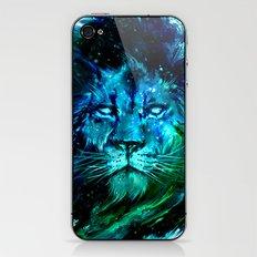 Cosmic lion  iPhone & iPod Skin