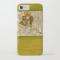 om iPhone & iPod Cases featuring om by Loosso