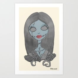 Sally Art Print