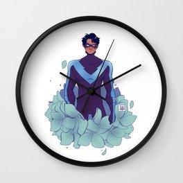 FLORA: Dick Wall Clock