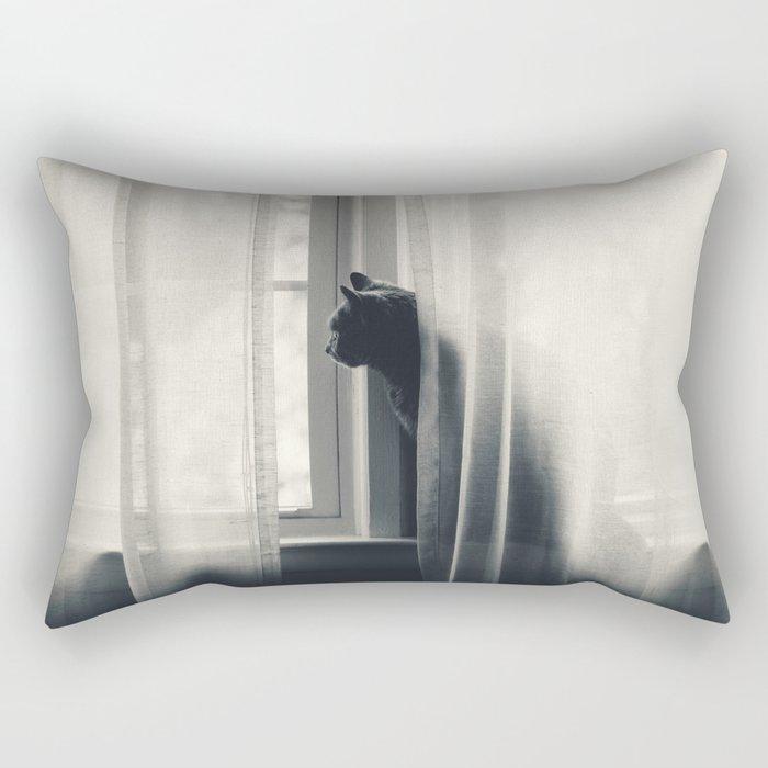 Le Kitty  Rectangular Pillow