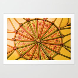 Secret Ceilings Art Print