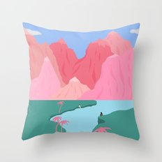 Girls' Oasis Throw Pillow