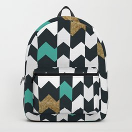 Chevron Pieces Backpack