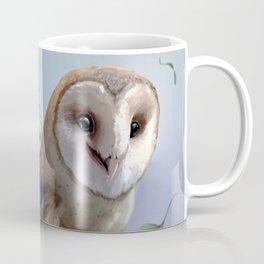 The Faery and the Barn Owl Coffee Mug