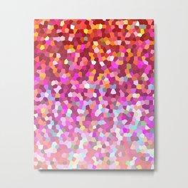 Mosaic Sparkley Texture G148 Metal Print