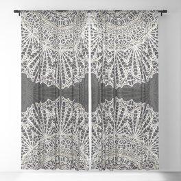 Mandala Mehndi Style G384 Sheer Curtain