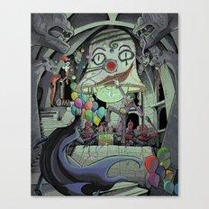Bat In My Belfry Canvas Print