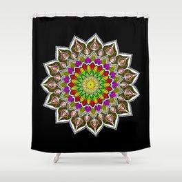 Holi in a Mandala Shower Curtain