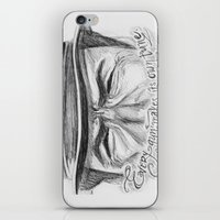 clint eastwood iPhone & iPod Skins featuring Clint Eastwood by Robin Ewers