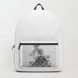 USA Soldiers Drawing Backpack