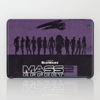 mass effect iPad Cases featuring Mass Effect 2 by Bill Pyle
