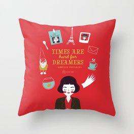 Amélie Poulain Throw Pillow