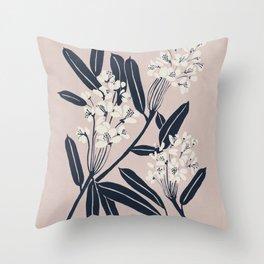 Boho Botanica Throw Pillow