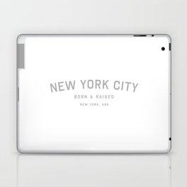 New York City - NY, USA (White Arc) Laptop & iPad Skin