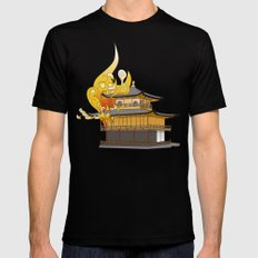 Golden Temple Black MEDIUM Mens Fitted Tee