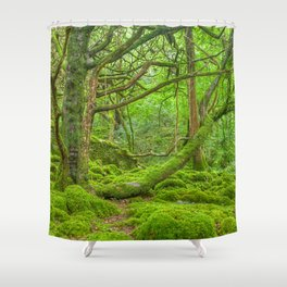 Emerald Forest Shower Curtain