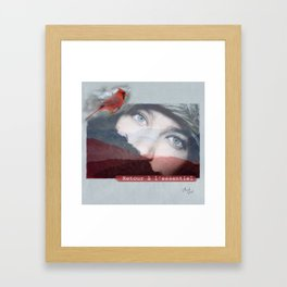 Retour à l'essentiel Framed Art Print