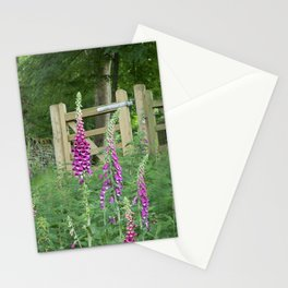 Woodland Gate Foxgloves  Stationery Cards