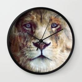 Lion // Majesty Wall Clock