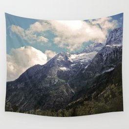 Pikes Peak Digital Painting Wall Tapestry