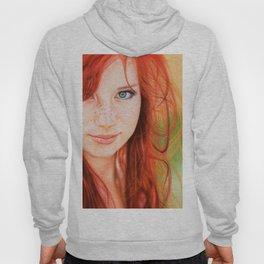 Redhead Girl Hoody